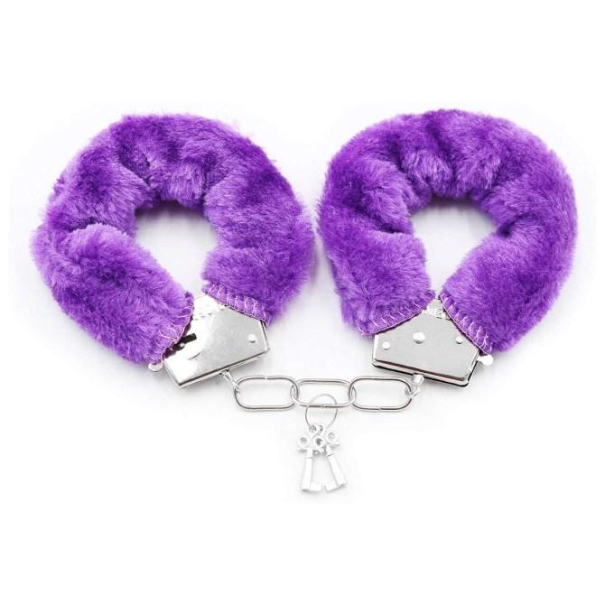 best sex toys purple handcuffs
