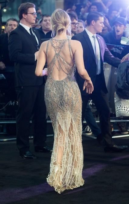 jennifer lawrence naked 1 Jennifer Lawrence Nailed the Naked Dress Look Twice This Week