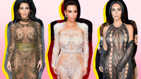 Kim Kardashian's 15 Most Naked Looks   StyleCaster