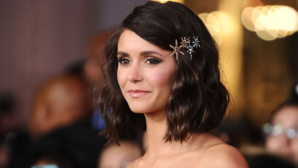 Nina Dobrev Just Got the Most Sophisticated New Bob and Bangs