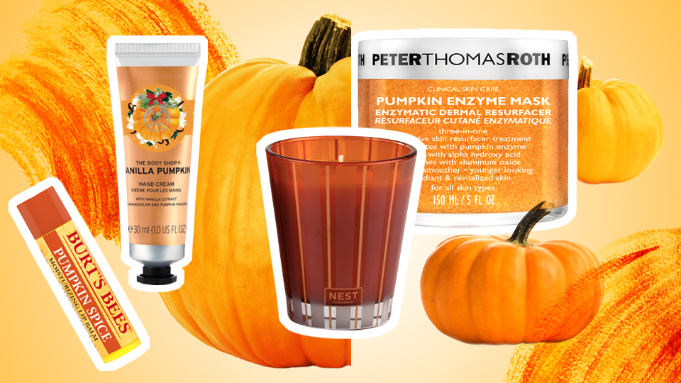 STYLECASTER | Pumpkin Beauty Products