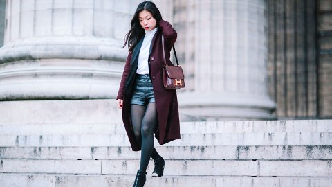 20 Fashion Blogger-Approved Ways to Wear Shorts During Fall | StyleCaster