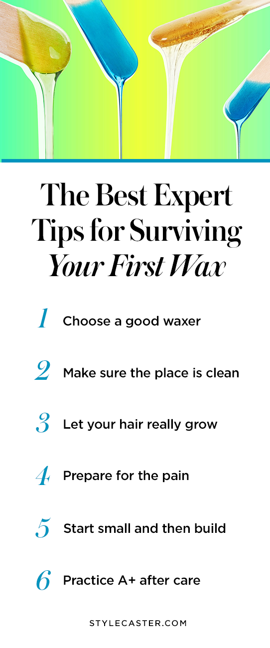 STYLECASTER | Pin it! Tips for Surviving Your First Wax