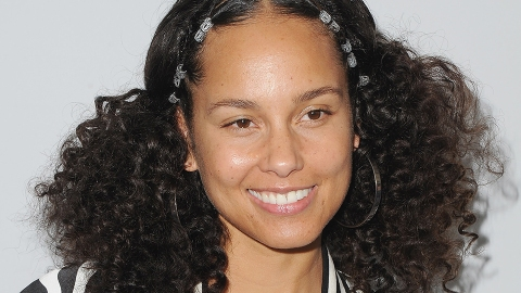 Alicia Keys Just Dyed Her Hair the Most Majestic Color   StyleCaster