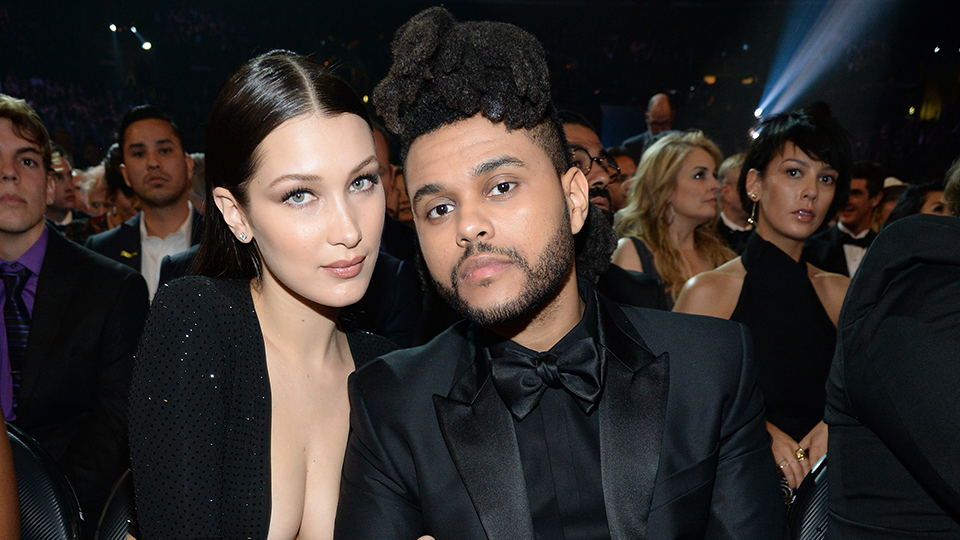 Bella Hadid & The Weeknd.