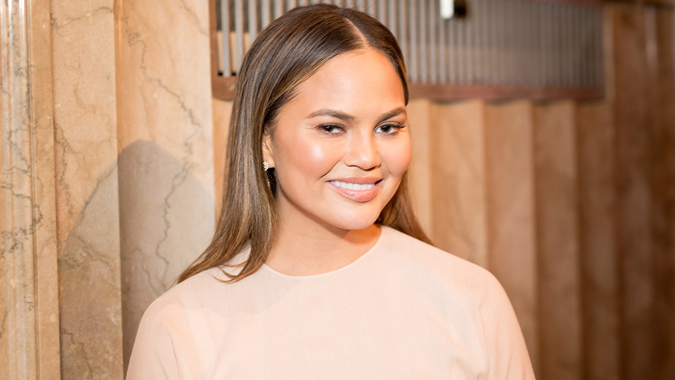 Chrissy Teigen Reacts to Snapchat Nip Slip with Pitch-Perfect Humor, per Usual