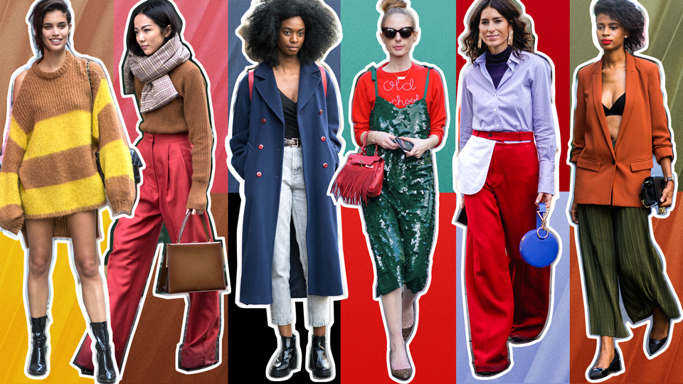 STYLECASTER | Outfit Ideas | How to Wear Clashing Colors