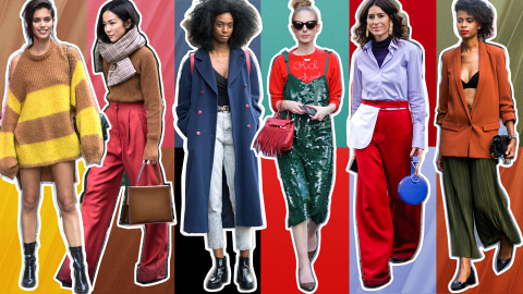 How to Pull off Clashing Colors Like a Street Style Star | StyleCaster