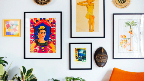 18 Vibrant Pieces Of Wall Art To Brighten Your Space | StyleCaster
