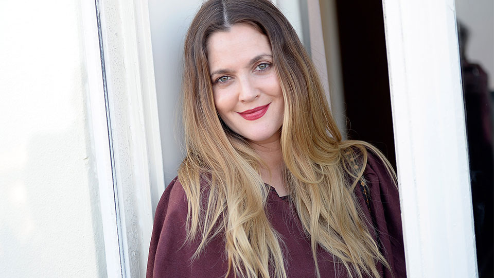 Drew Barrymore's New Brand Includes Millennial Pink Hair Tools