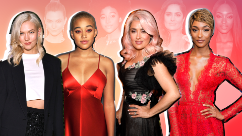 The Fiercest Celebrity Hair Transformations of 2017   StyleCaster