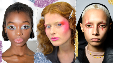 21 High-Fashion Beauty Looks to Try This Halloween | StyleCaster