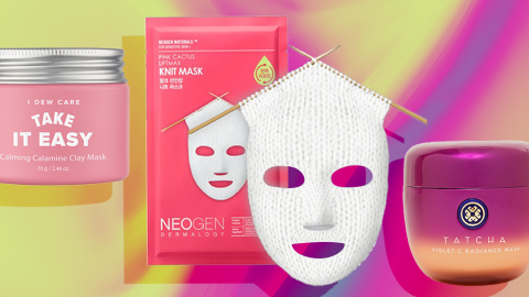 The Cutting-Edge Face Masks That Warrant a Shameless Selfie or Two | StyleCaster