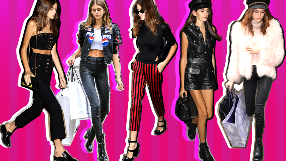 A Definitive Guide to Kaia Gerber's Best Street Style Looks