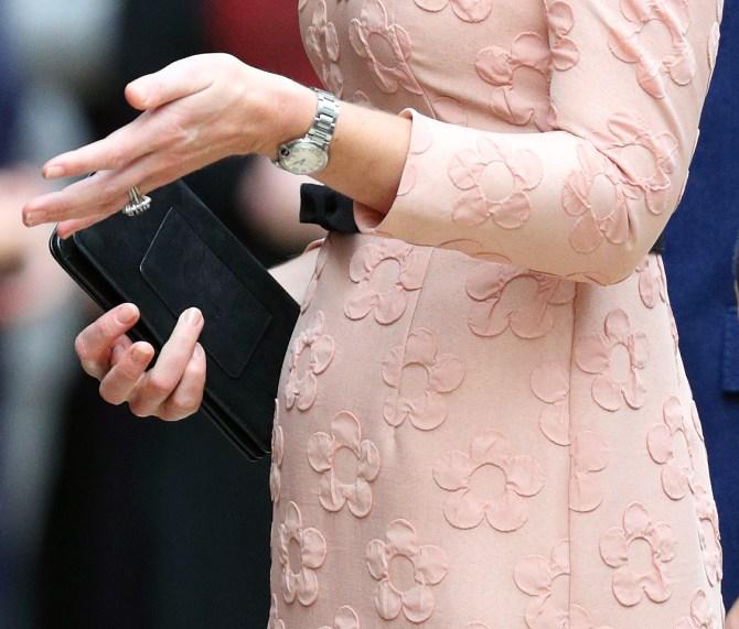 Kate Middleton Hands
