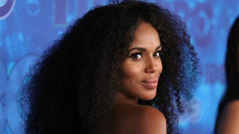 We Love Why Kerry Washington Embraced Her Natural Hair | StyleCaster