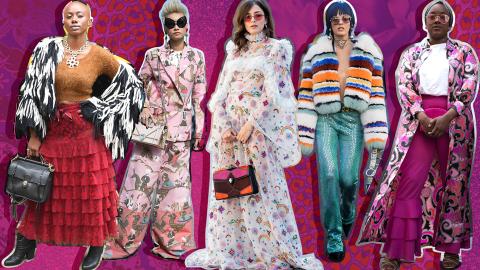 40 Ways to Slay the Maximalist Street Style Trend | StyleCaster
