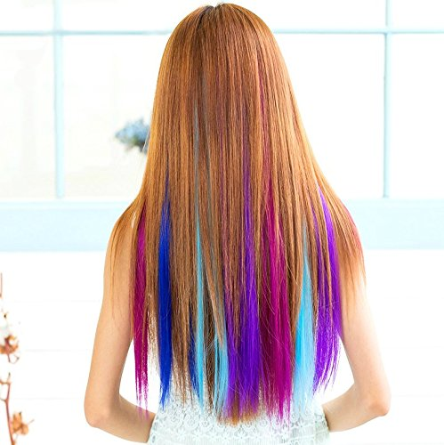 one dor clip in amazon 5 No Commitment Ways to Change Your Hair Color for Halloween
