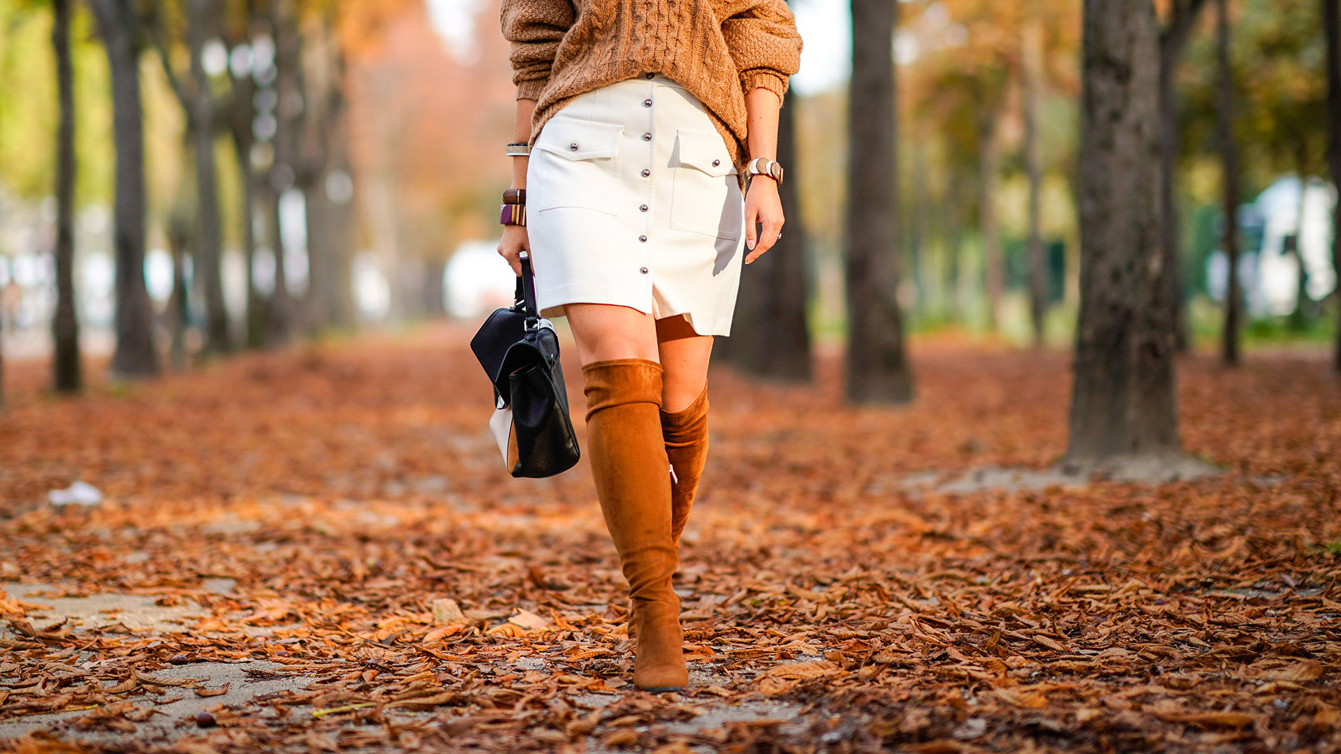 STYLECASTER | Fall & Winter Outfit Ideas | Over-the-Knee Boots
