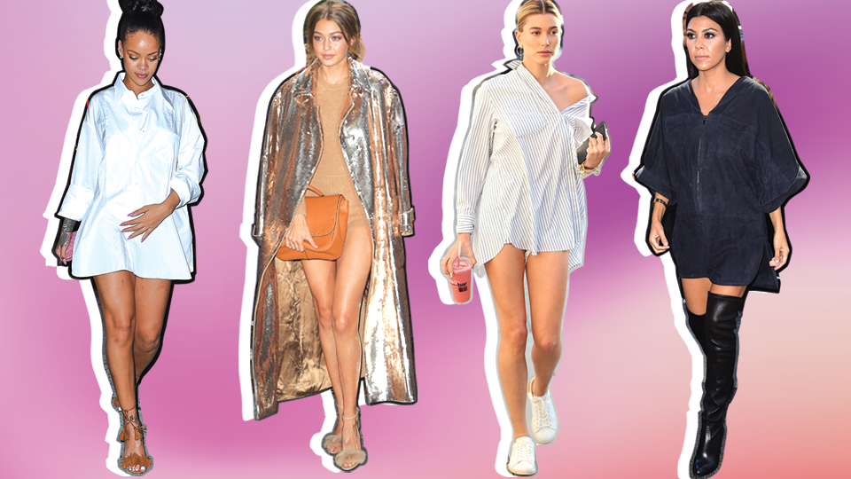 13 Celebrities Who Have Successfully Pulled Off the Pantsless Outfit Look