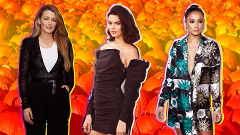Please Enjoy These Photos of Celebrities Shopping for Pumpkins | StyleCaster