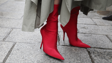 21 Pairs of Red Boots That Will Heat Up Your Fall Wardrobe | StyleCaster