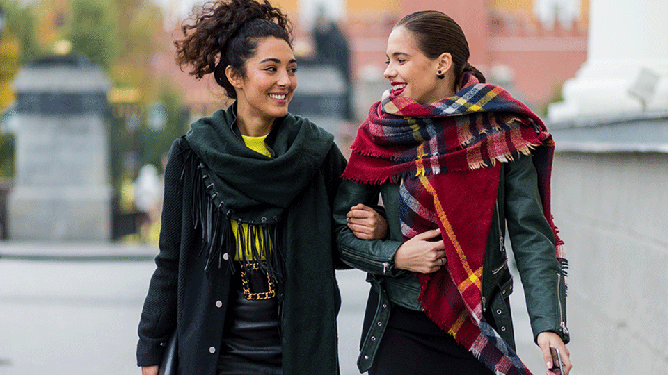 STYLECASTER | Fall Fashion Ideas | Blanket Scarf Shopping Guide