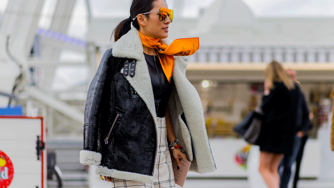 28 Perfect Ways to Wear Shearling This Season | StyleCaster