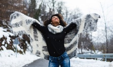 6 Winter Fashion Tips For Looking Good When It's Too Cold To Deal