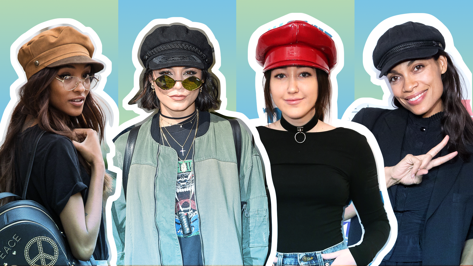 24 Times Celebrities Showed Us How to Pull Off Baker Boy Hats