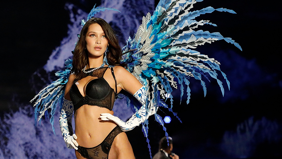 Bella Hadid Recovers from Nip Slip, and More Wild Moments from the 2017 Victoria's Secret Fashion Show