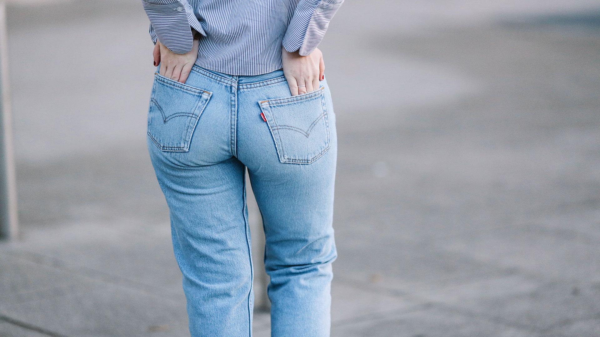 STYLECASTER | Denim Outfit Ideas | Boyfriend Jean Guide
