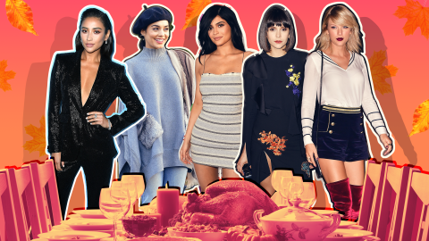 We Desperately Want Invites to These Famous Friendsgivings | StyleCaster