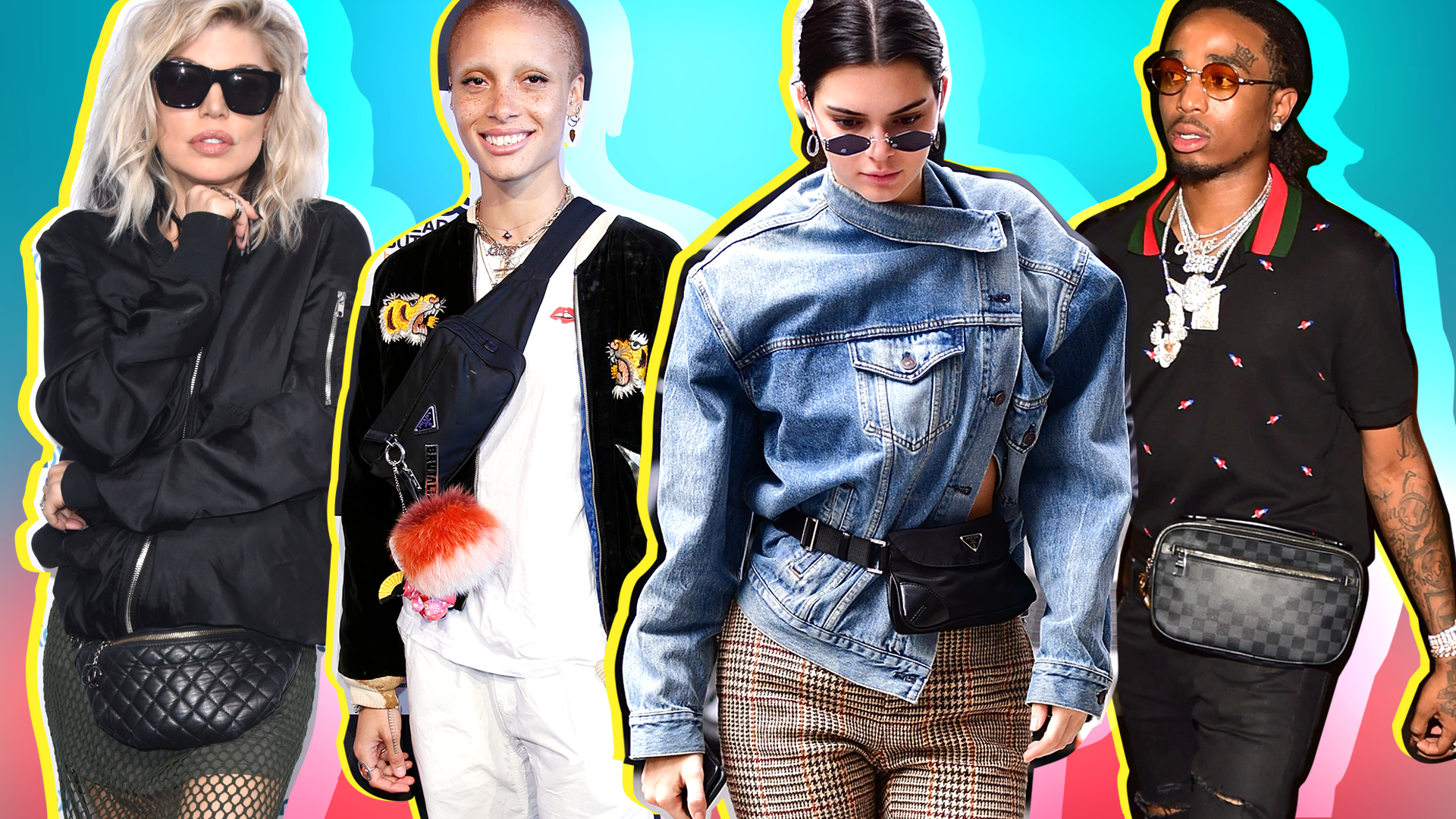 21 Celebrity-Approved Ways to Wear a Fanny Pack Without Looking Like a Tourist