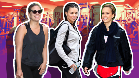 Celebrity Gym Selfies to Inspire You to Break a Sweat | StyleCaster