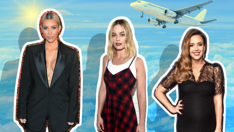 The Foolproof Ways These Celebrities Fight Jet Lag | StyleCaster