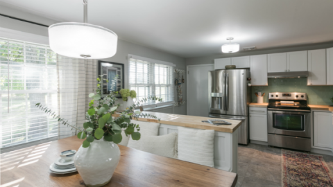 A DIY Kitchen Transformation You Have to See To Believe   StyleCaster