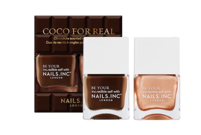 nails inc coco for real nail polish 10 Chic Winter Nail Colors That Dont Evoke Holiday Vibes
