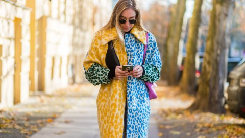 These Printed Coats Prove That Neutrals are Way Overrated | StyleCaster