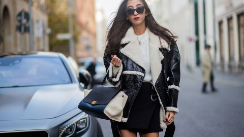 Here's How to Wear Skirts When It's Really Damn Cold | StyleCaster