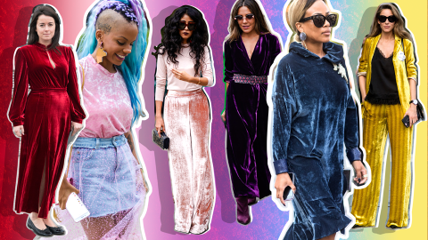The 75 Hottest Ways to Wear Velvet This Winter | StyleCaster