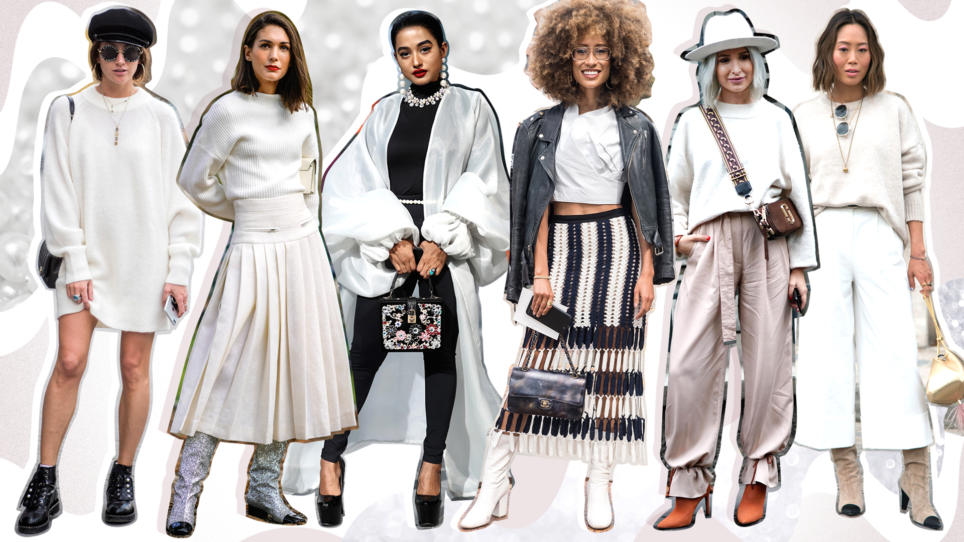 STYLECASTER | Winter Outfit Ideas | Winter White Styling Guide