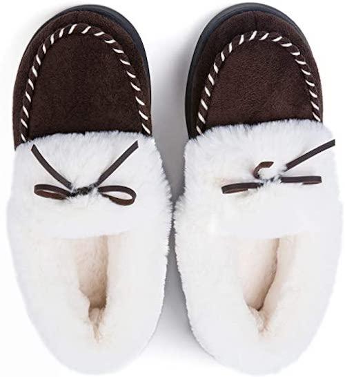 STYLECASTER | Best Slippers | rockdove dark brown slipper