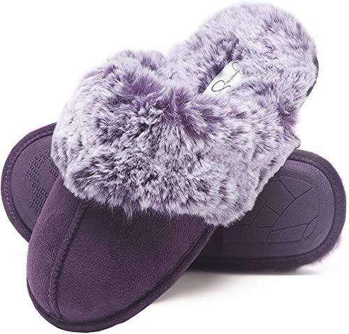 STYLECASTER | Best Slippers | purple slippers