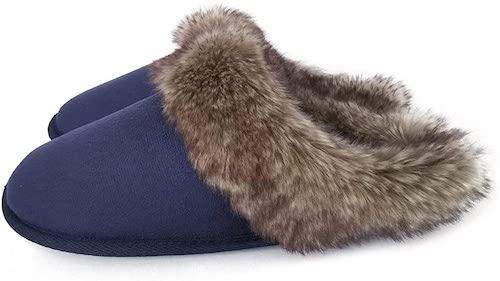 STYLECASTER | Best Slippers | ofoot navy slipper