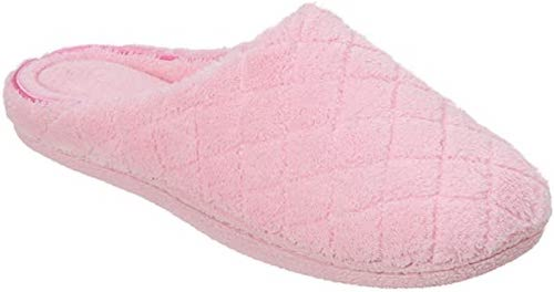 STYLECASTER | Best Slippers | pink slippers quilted