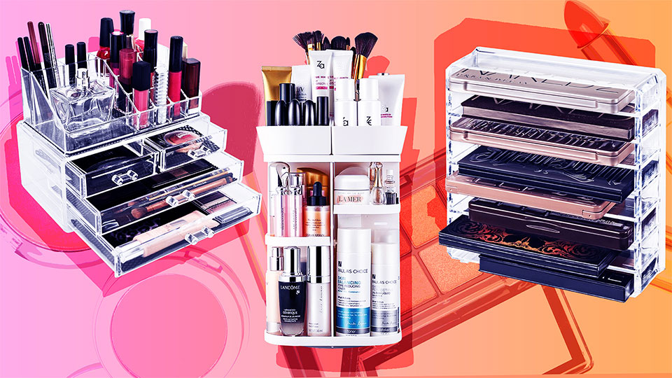 The Best Beauty Organizers to Give Your Vanity The Ultimate Instagrammable Makeover