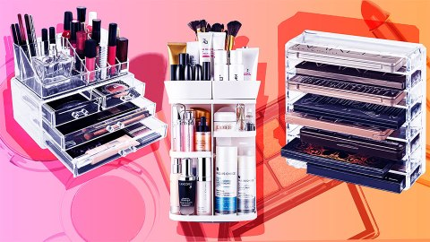 Makeup Organizers for Your Newly Decluttered Space | StyleCaster