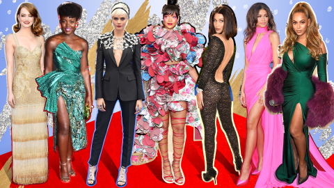 The 50 Best Celebrity Fashion Moments of 2017   StyleCaster