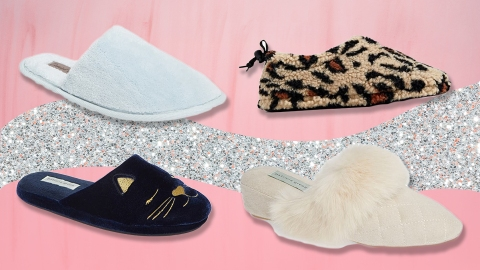 50 Comfy Slippers Under $50 That'll Make You Forget Real Shoes Even Exist   StyleCaster